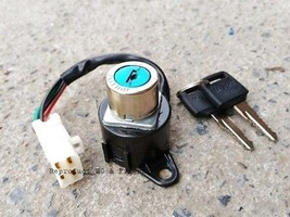 Honda C70 C70KA C90 C90S Ignition Key Combination Switch Assy New (4 Wires)  - $9.79