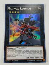 Yu-gi-oh! Trading Card - Gagaga Samurai - WSUP-EN027 - Super Rare - 1st Ed. - $1.50