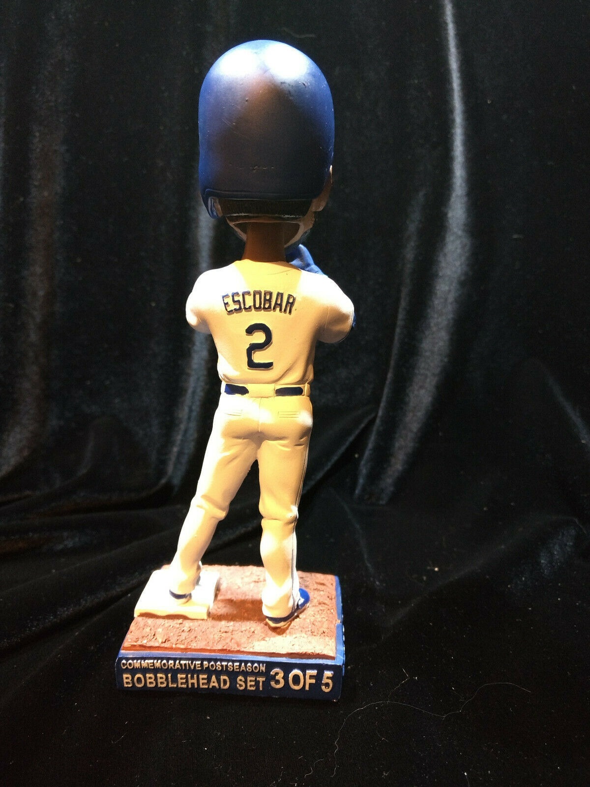 Kansas City Royals Bobblehead SGA 2016 ALCIDES ESCOBAR ALCS 6/25/16