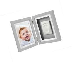 Pearhead Babyprints Newborn Baby Handprint and Footprint Desk Photo Fram... - $47.30