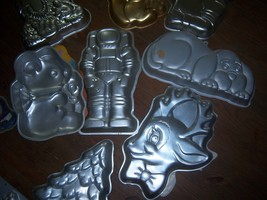 Wilton Character Cake Pans used - $5.00