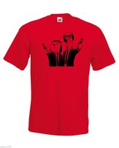 Mens T-Shirt with Winnie the Pooh Tiger in Pulp Fiction Style, Cartoon tShirt - $24.74