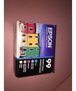 5-PACK Epson GENUINE 99 Color Ink (RETAIL BOX) ARTISAN 700 710 725 730 - $44.62