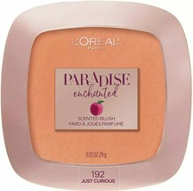 L'oreal Paradise Enchanted Fruit Scented Blush Just Curious 192 NEW - $6.99