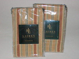 1 Ralph Lauren COCO PALM Stripe King Sham - $28.45