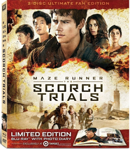 Maze Runner The Scorch Trials Ultimate Target Exclusive Digibook [Blu-ray  +DVD]