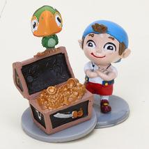 Jake ad the NeverLand Pirates PVC Figures 7 Pcs Figures Set birthday Gift NEW - $17.00