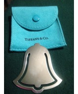 "TIFFANY & CO. ""Bell"" shaped BOOKMARK in Sterling Silver - RARE - 1999 - $2.361,29 MXN"