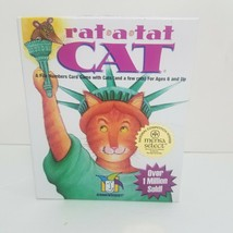 Rat a Tat Cat Numbers Card Game Gamewright Ages 6 and up Complete USA - $9.69