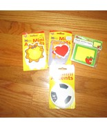 teacher colorful cut-outs mini accents calendar bulletin board lot sun  ... - $9.99