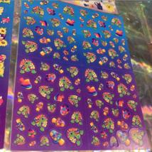 PICK 1*Lisa Frank Full Sticker Sheet Minis Kitten Dog Fruit Panda Peekaboo Koala image 6