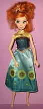 Disney Store Frozen Fever Princess Anna Doll Spring  - $14.99