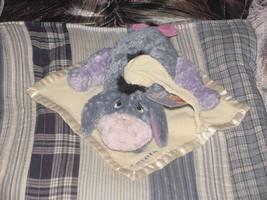 "12"" Gund Baby's Lovey Sleepy Time Eeyore On Blanket With Tags - $34.64"