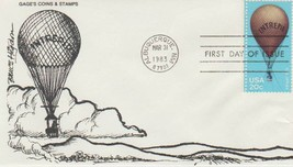 "(5) ""The Intrepid"" Civil War Balloon FDC,Vintage 3/31/83 UR Buying 5-FRE... - $12.38"