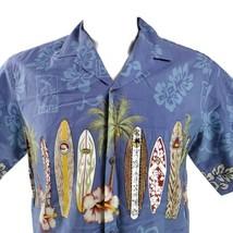 Royal Creations Large Surfboards North Shore Hibiscus Hawaiian Aloha Shirt - $29.69