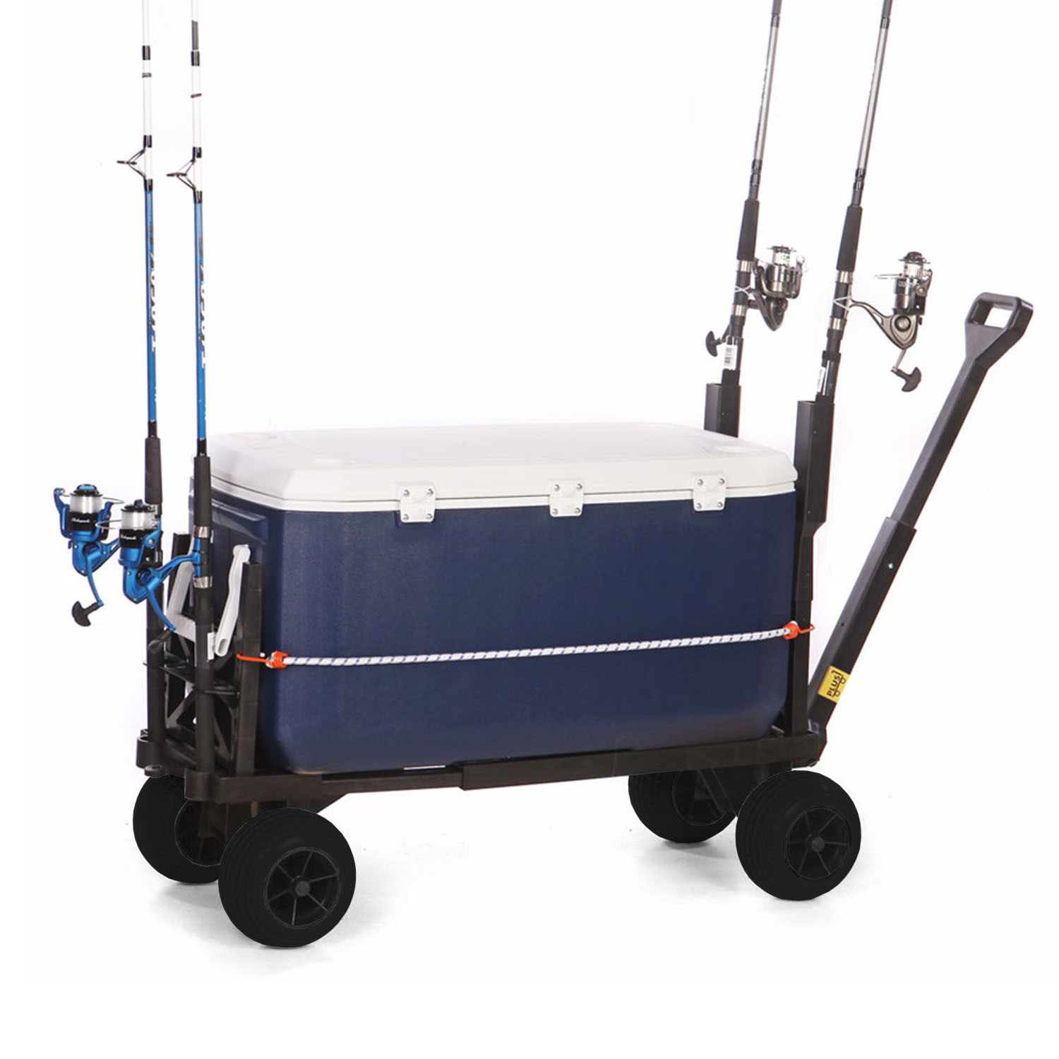 Surf Fishing Cart 4 Wheel Trolley Carts For The Beach