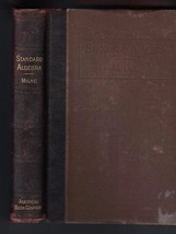 Standard Algebra by William J Milne HC (1908) American Book Co - $10.55