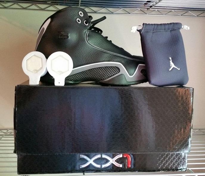 buy popular 5cfe4 744b1 Nike Air Jordan XXI 21 Black   Flint Grey   and 15 similar items. Jordanxx1  1