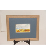 Wisconsin Artist Sandra Peterson Signed and Framed Door Cty Watercolor - $14.99