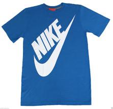 NIKE Biggie Futura T-Shirt sz S Small Photo Blue White Premium Ice Max 90 NEW - $23.99