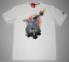 NIKE Space Gorilla T-Shirt sz S Small White Premium Jungle Moon Lunar90 Max NEW - $27.99