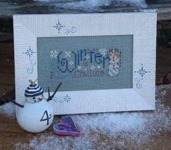 Winter Is Chilling Easy To Stitch Kit cross stitch Shepherd's Bush - $12.00