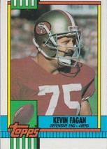 Kevin Fagan 1990 Topps Card #26 - $0.99