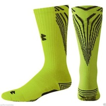 UNDER ARMOUR All Sport Slide Crew Socks sz L Large (9-12.5) Armourgrip Y... - $19.79