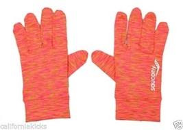 SAUCONY Unisex Space Dye Run Gloves sz XL X-Large Reflective Running Pre... - $393,65 MXN