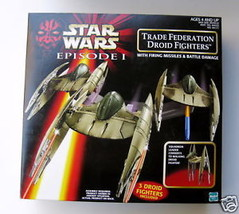 STAR WARS Episode I Trade Federation Droid Fighters NEW - $27.99