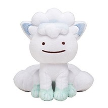 Pokemon Center Original Plush Doll Transformation! Ditto Alola Vulpix JAPAN - $25.69