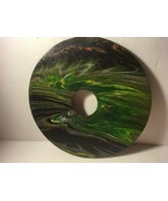 """7"""" Vinyl Music Record Wall Art - Fluid Acrylic Flowing Poured Paint 003 - $14.20"""