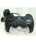 Logitech Dual Action GamePad Controller Blue For Parts Only #046046d-c216 - $9.95