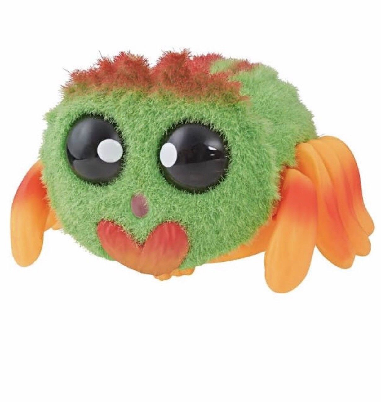 Yellies ++ Klutzers++ Green Voice-Activated Spider Pet NEW IN HAND HOT TOY 2018