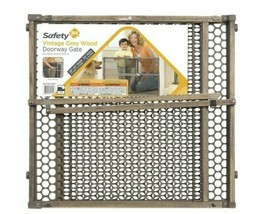 Safety 1st Gray 24 In. H X 28-42 In. W Wood Safety Gate - $27.71