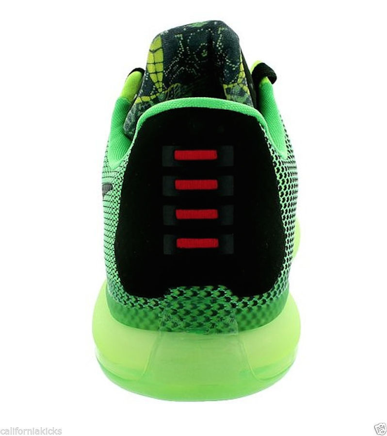 4b9063e276c949 cheap nike kobe x sz 8 vino edition poison green sequoia volt elite mamba  grinch new
