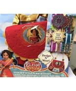 Disney Elena of Avalor Stitch N Style Purse Activity Craft - $12.99