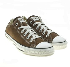Converse All Star Brown Canvas Lace-ups Low Top Sneakers Mens 6.5 / Wome... - $19.79