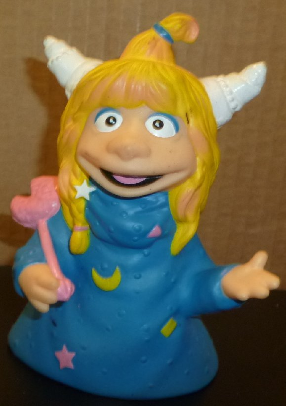 Pizza Hut EUREEKA'S CASTLE Vinyl Puppet Toy 5.5""