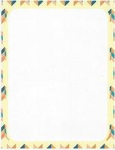 Cream Herringbone Stationery Printer Paper 26 Sheets - $9.89