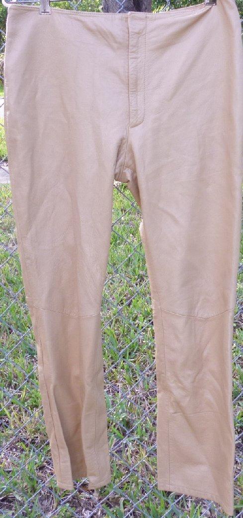 REM GARSON Soft LEATHER  pants size 10