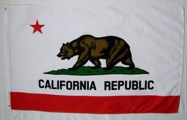 State of California Flag 3' X 5' Indoor Outdoor State Banner - $9.95