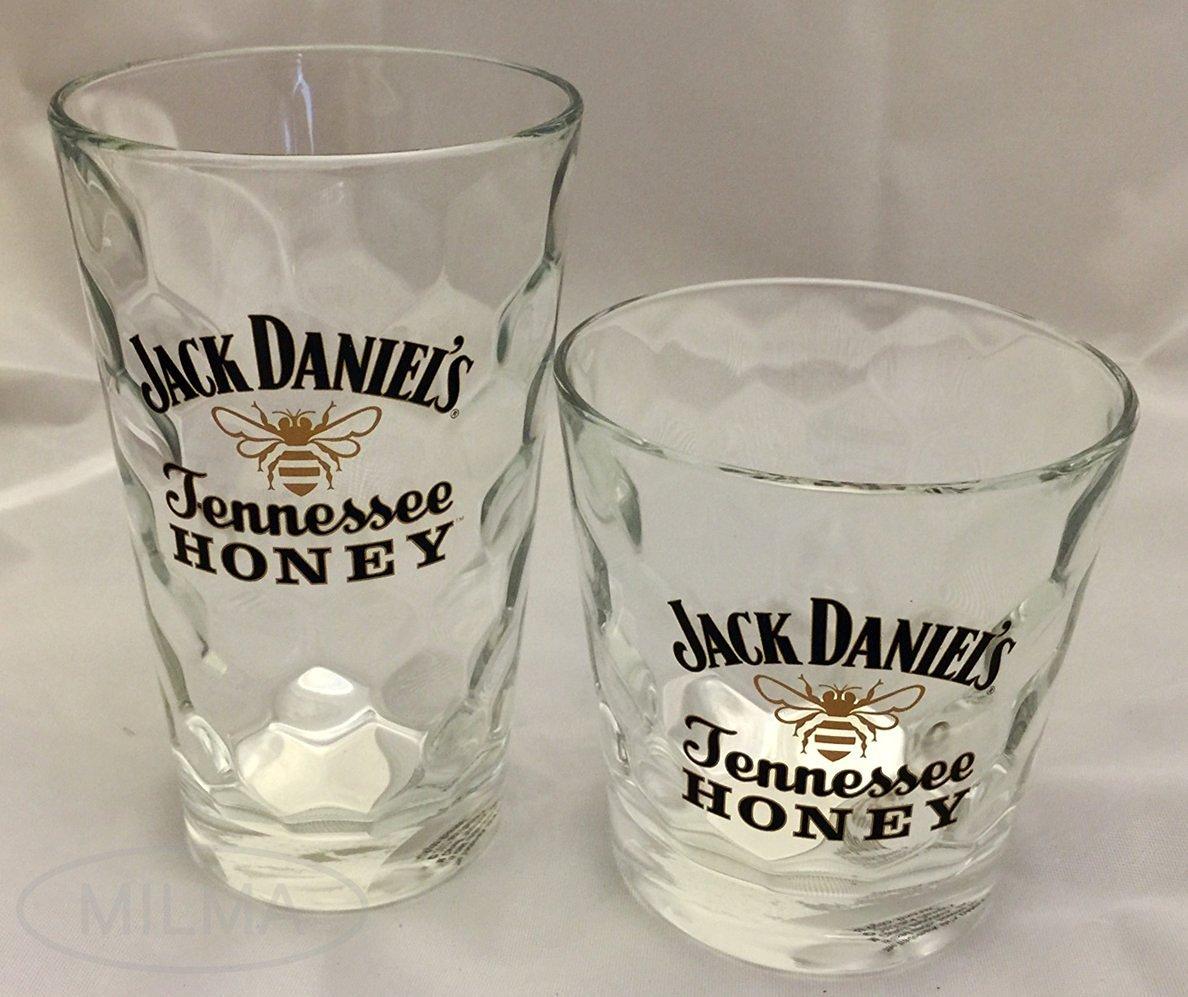 Jack Daniel's Faceted Glass Exclusive Italian Barware