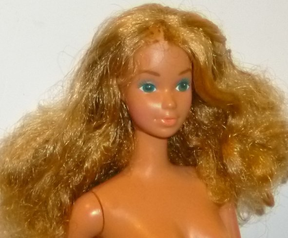 Vintage 1983 Barbie Doll SUN GOLD MALIBU PJ blonde nude Steffie face mold