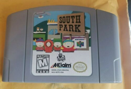 Primary image for South Park (Nintendo 64, 1998) Authentic  - CARTRIDGE ONLY
