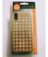 I Phone X/XS Gold Thread Phone Case - $6.21