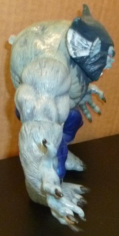 "X-MEN MUTANT MONSTERS Dark Beast action figure toy 7"", 1996 Marvel Toy Biz"