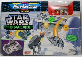 Star Wars ESB Ice Planet Hoth MicroMachines playset Rebel Alliance Base ... - $24.95