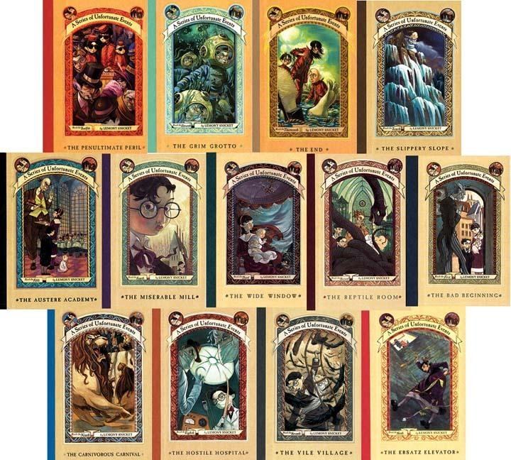 A Series of Unfortunate Events 13 Audiobooks Lemony Snicket MP3 Digital Download for sale  USA