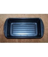 2 Piece Bakeware Loaf Pan Meatloaf Pan Non Stic... - $9.99